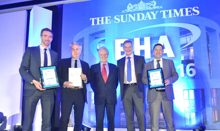 The Sunday Times British Homes Awards ceremony