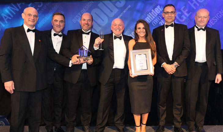 Housebuilder Awards 2016 ceremony