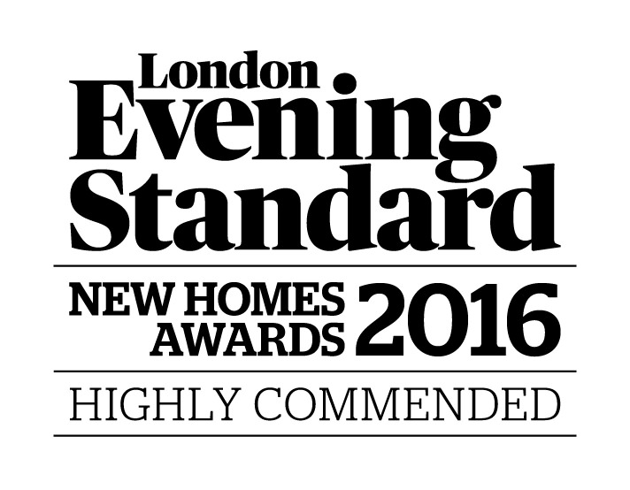 London Evening Standard New Homes Awards 2016 Highly Commended